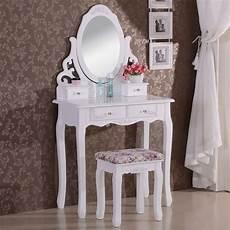 schminktisch mit spiegel und hocker schminktisch mit spiegel und hocker mb6024cm woltu eu