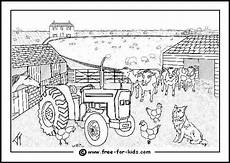 farm animal colouring pages www free for
