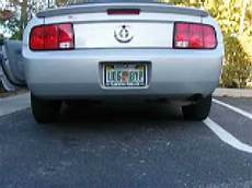 2007 v6 mustang b4 and after dual exhaust
