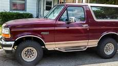 how petrol cars work 1996 ford bronco parking system sell used 1996 ford bronco eddie bauer in cincinnati ohio united states for us 4 500 00