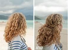 hairstyles after braids 2 min hairstyle half crown braid in curly hair video tutorial hair