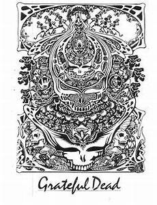 grateful dead adult coloring pages google search adult