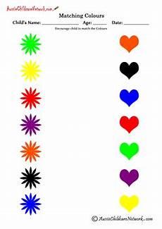 matching colors worksheet for kindergarten 12921 matching colours worksheets montessori toddler kid stuff color worksheets learning