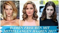 Damen Frisuren Mit Mittellangen Haaren 2017