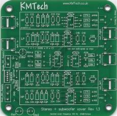 new 2 1 24db oct stereo active crossover single sub output buttkicker pcb ebay