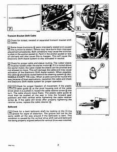 Bayliner Owners Club Omc Cobra Drive Tech Info