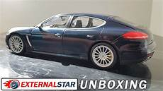 porsche panamera 1 18 unboxing and review of porsche panamera turbo s 1 18 by