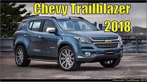 Chevrolet Trailblazer 2018 Review  View Specs Prices