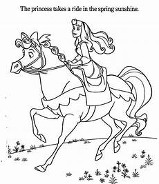 princess a coloring page play color