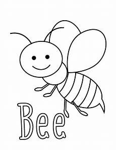 coloring pages bee 171 funnycrafts