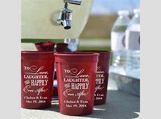 Plastic Wedding Stadium Cups Personalized   My Wedding