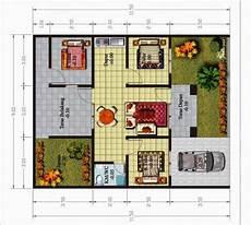Denah Rumah Minimalis 3 Kamar Tidur Yang Efektif Simomot