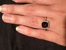 my non diamond engagement ring