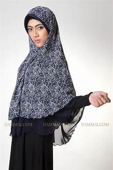 Modern Edgy Blue Syar I Jilbab Dammai