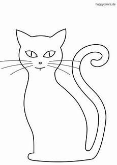 Malvorlage Katze Silhouette Silhouette Katze Ausmalbild Malvorlage Katze