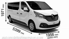longueur renault trafic dimensions of renault cars showing length width and height