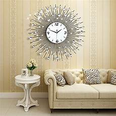 decorative wall clocks for living room amazon com