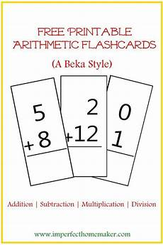 free printable 3rd grade math flash cards 10820 free printable abeka style arithmetic flash cards addition flashcards math facts homeschool math