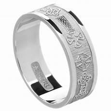 celtic cross white gold wedding ring celtic wedding rings rings from ireland