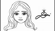 gesicht m 228 dchen schnell zeichnen lernen wie topmodel