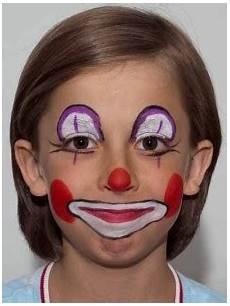 kinder clown schminken clown schminken kost 252 m verschiedene varianten