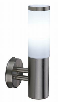 b q cano outdoor wall light in stainless steel wall light review compare prices buy online