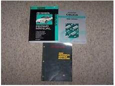 best car repair manuals 1998 toyota celica on board diagnostic system toyota celica repair manual ebay