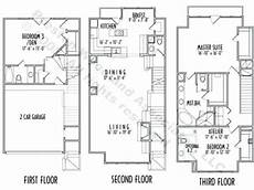 3 story floor plans 3 story narrow house plans outstanding level house plans