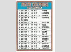 printable miami dolphins 2020 schedule