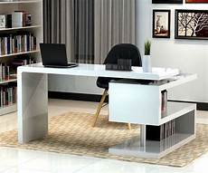 cool home office furniture stunning modern home office desks with unique white glossy