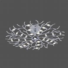 Led Deckenleuchte 80 Cm - led deckenleuchte florian rund 80 cm chrom wohnlicht