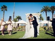 island wedding at descanso youtube