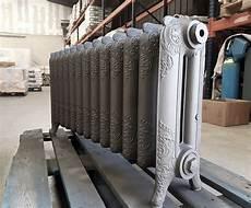 Radiateur Bas En Fonte Fleuri Sous Fen 234 Tre Cast Iron