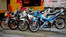 Modifikasi Satria Fu 2018 by Modifikasi Motor Satria Fu Drag Race Bintom Juni 2017