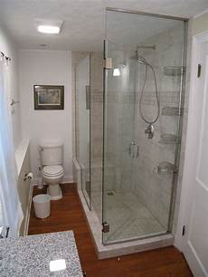 Bathroom Ideas With Shower by Which Glass Shower Options Work For Small Bathrooms Agm