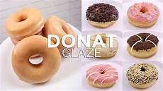 Donat Dengan Topping Glaze Glazed Doughnuts