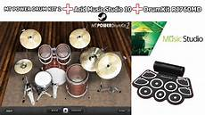 mt power drumkit 2 studio one drum kit rj760md acid music studio 10 mt power drum kit 2 youtube