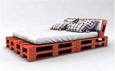 Bett Aus Paletten Kaufen - palettenbett bauen ganz einfach hier 2 praktische