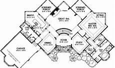 european house plans with walkout basement eplans european house plan uniquely angled walkout