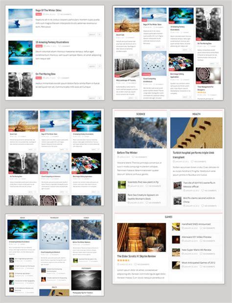 compasso themeforest masonry magazine theme