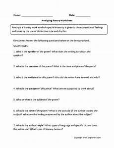 poem worksheets for grade 7 25434 4033 best englishlinx board images on frases grammar and sentences
