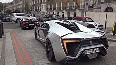 w motor w motors lykan hypersport and fenyr supersport driving in and hill climb