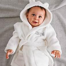 peignoir personnalisé bébé peignoir bain bebe
