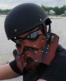 Stormtrooper Motorcycle Mask Coole Motorradhelme Masken