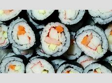 cream cheese and crab sushi rolls_image