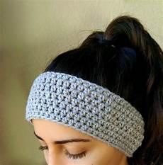 Easy Crochet Headbands simple crochet ear warmer headband handmade by thesnugglery