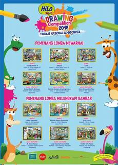 Pemenang Hilo School Drawing Competition 2018 Tingkat