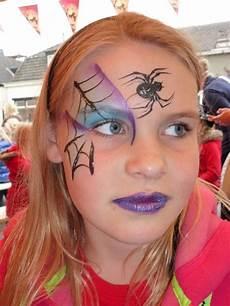 Schminken Spinne - schmink spin zoeken karnevalkost 252 me