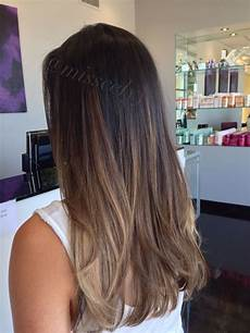 Ombre Glatte Haare - more realistic styling for me also softer colour