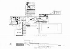 kaufmann desert house plan kaufmann house plan google search case study houses